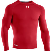 Under Armour Men's Heatgear Sonic Compression Long Sleeve Top - Red