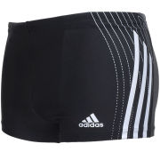 adidas Men's Tech Range Swimming Boxers - Black/Blue