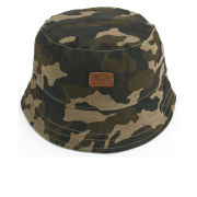 Weekend Offender Men's Reversible Bucket Hat - Camo/Chambray - One Size