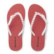 Dunlop Women's Flip Flops - Red