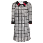 Girls On Film Women's Dogtooth Shift Dress - Multi