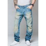 Ringspun Men's Shaftsbury Jeans - Light Wash