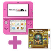 Nintendo 3DS XL Pink: Bundle includes Professor Layton and the Azran Legacy