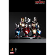 Hot Toys Iron Man 3 Set of 8 Busts