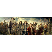The Hobbit Cast - Door Poster - 53 x 158cm