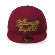 Billionaire Boys Club Men's Script New Era Cap - Red/Gold