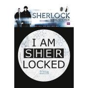 Sherlock Sherlocked - Vinyl Sticker - 10 x 15cm