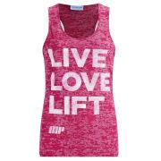 Koszulka na ramiączkach Myprotein - Różowa