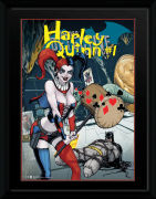 DC Comics Harley Quinn Hammer - 16 x 12 Framed Photgraphic