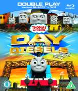 Thomas and Friends: Day of the Diesels - Double Play (Blu-Ray and DVD)