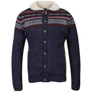Tokyo Laundry Men's Columbia Button Knit - Navy
