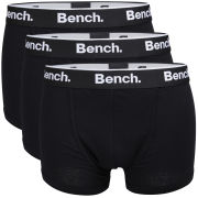 Bench Men's 3-Packs Basic Boxers - Black