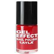 Layla Cosmetics Gel Effect Nail Polish N.06 Power Red (10ml)