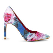 Ted Baker Women's Luceey Multi Satin Court Shoes - Pink Multi
