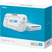 Wii U Console: 8GB Basic Pack - White - Grade A Refurb
