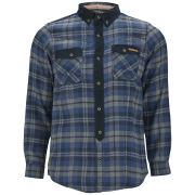 Tokyo Laundry Men's Mello Check Shirt - Dark Denim