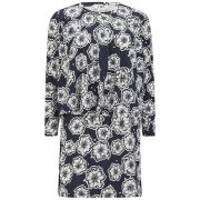 YMC Women's Dandelion Print Jersey Dress - Navy