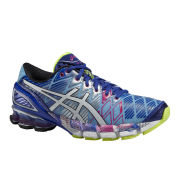 Asics Women's Gel-Kinsei 5 Cushioning Running Shoes - Soft Blue/White/Hot Pink