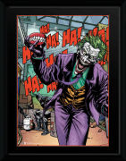 DC Comics Joker Teeth - 16 x 12 Framed Photgraphic
