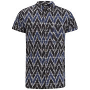 NEUW Men's Hunter Shirt - Indigo Icat
