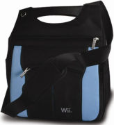 Nintendo Wii Urban Messenger Bag - Blue