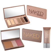 Urban Decay Naked Trio- Basics Palette, Beauty Balm & Flushed