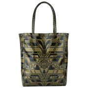 Ted Baker Women's Fithcon Large Fifth Avenue Printed Icon Bag - Gold