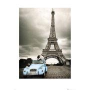 Paris Romance - 60 x 80cm Print