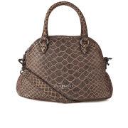 Liebeskind Women's Millicent Spada Snake Leather Dome Bag - Black