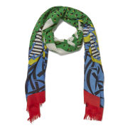 Marc by Marc Jacobs Fresh Grass Wool Scarf - Multi