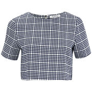 Glamorous Women's Coordinating Check Top - Blue