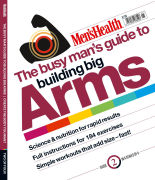Men's Health The Busy Man's Guide To Building Big Arms