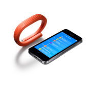 UP24 By Jawbone Sleep and Activity Tracking/Health and Fitness Wristband - Persimmon