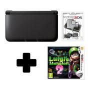 Nintendo 3DS XL Black Luigi Mansion 2 Pack