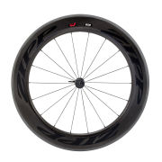 Zipp 808 Firecrest Tubular Front Wheel 18 Spokes - Black Decal 2015