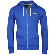 Slazenger Men's Full Zip Hoody - Blue
