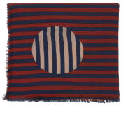 Marc by Marc Jacobs Graphic Charles Dot Scarf - Cambridge Red Multi