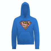 DC Comics Hoody Superman Cells Logo - Royal Blue