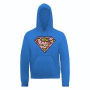 DC Comics Hoody - Superman Cells Logo - Royal Blue