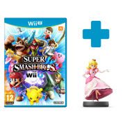 Super Smash Bros. for Wii U + Peach No.2 amiibo