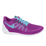 Nike Women's Free 5.0 Trainers - Purple/Blue
