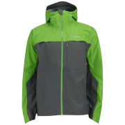 Berghaus Men's Vapour Storm Shell Jacket - Grey/Green