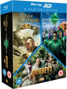 3D Triple Pack: Clash of Titans / Journey 2 / Green Lantern