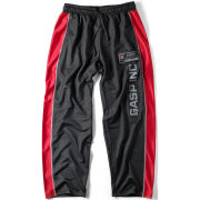 GASP No1 Mesh Pants - Black/Red