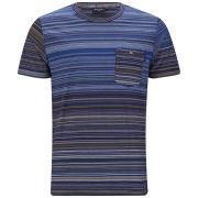 Paul Smith Jeans Men's External Stitch Pocket Cotton T-Shirt - Navy