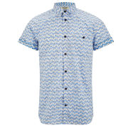 Jack & Jones Men's David Shirt - Campanuala