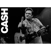 Johnny Cash San Quentin (Finger) - Giant Poster - 100 x 140cm