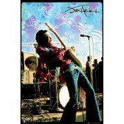 Jimi Hendrix Live - Maxi Poster - 61 x 91.5cm
