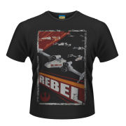 Star Wars Men's T-Shirt - Rebel - Black