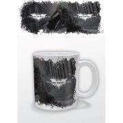 DC Comics Batman Dark Knight Rises White Logo Mug